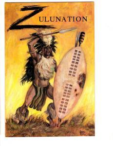 Lot Of 4 Comics Zulunation # 1 2 Columbus # 1 + Rime Of The Ancient Mariner TP2