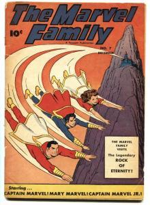 MARVEL FAMILY #7 1946-CAPTAIN MARVEL-MARY MARVEL-FAWCETT-VG