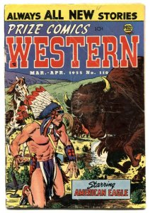 Prize Comics Western #110 1955- Final Precode issue G+