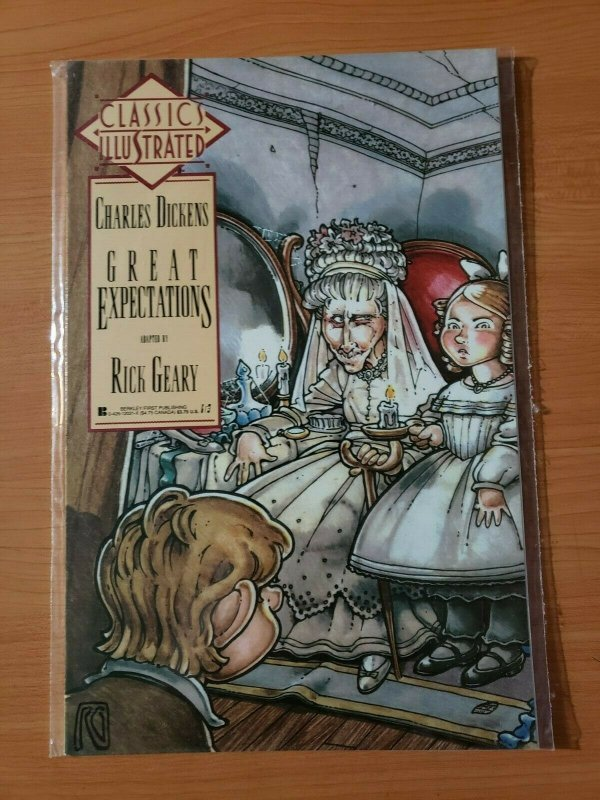 Classics Illustrated #2 Charles Dickens Great Expectations ~ NEAR MINT NM ~ 1990