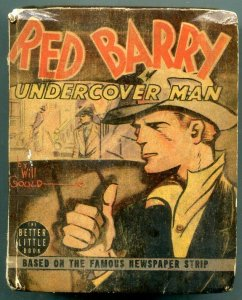 Red Barry Undercover Man Big Little Book #1426 1939