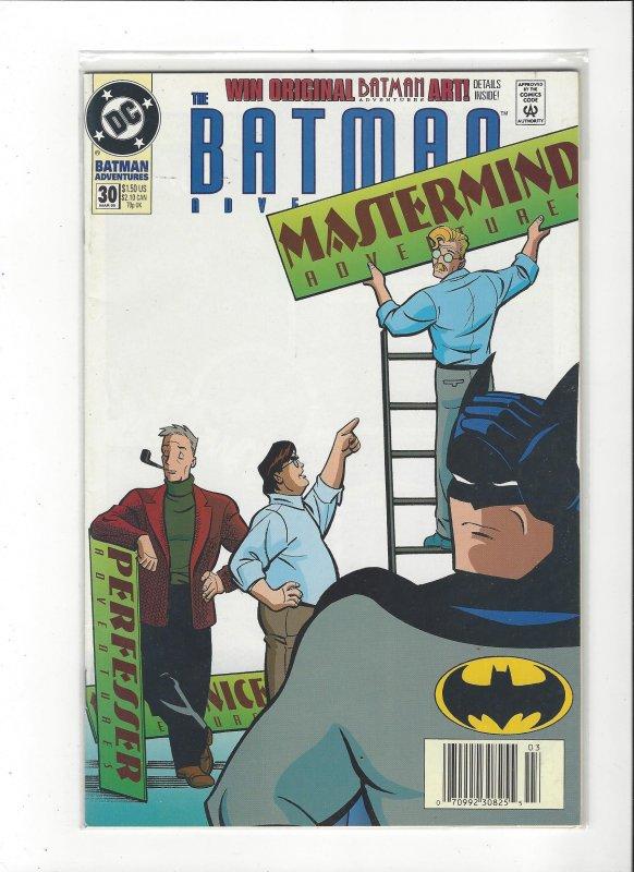 Batman Adventures #30 VS Mastermind VF/NM