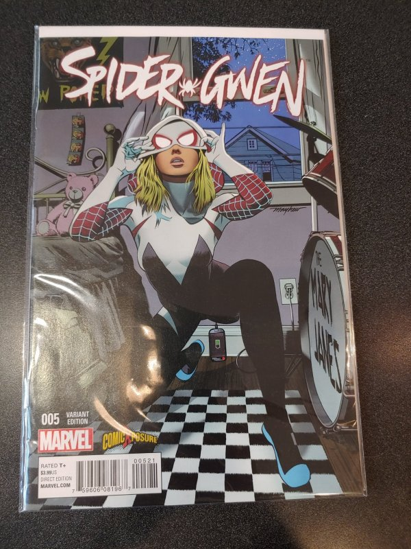 SPIDER GWEN #5 MIKE MAYHEW VARIANT COMICXPOSURE EXCLUSIVE LOW PRINT NM