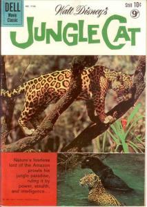JUNGLE CAT F.C.1136 VG Nov. 1960 COMICS BOOK