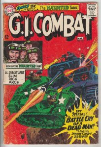 G.I. Combat #116 (Mar-66) VG+ Affordable-Grade The Haunted Tank