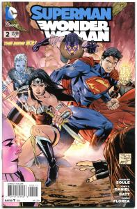 SUPERMAN / WONDER WOMAN #2, VF/NM, Tony Daniel, 2013, New 52, more DC in store