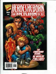 6 Marvel Comics Heroes Reborn Return 1 2 3 4 Daily Bugle 1 Damage Control 1 DB12