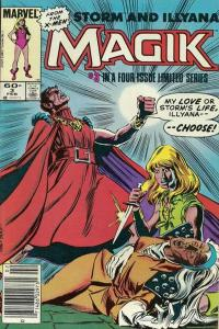 Magik (1983 series) #3, VF+ (Stock photo)