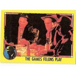 1990 Topps DICK TRACY-THE GAMES FELONS PLAY #19