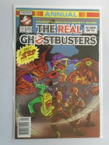 Real Ghostbusters Annual 5.0 VG FN (1992 NOW Comics)