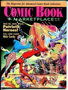 Comic Book Marketplace #48 1997-Gemstone-Nick Cardy-Murphy Anderson-VF