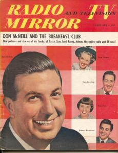 Radio And Television Mirror-Don McNeill-The Shadow-Johnny Desmond-Patsy Lee-Feb-