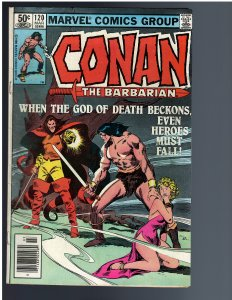 Conan the Barbarian #120 (1981)