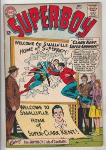 Superboy #107 (Sep-63) VF High-Grade Superboy