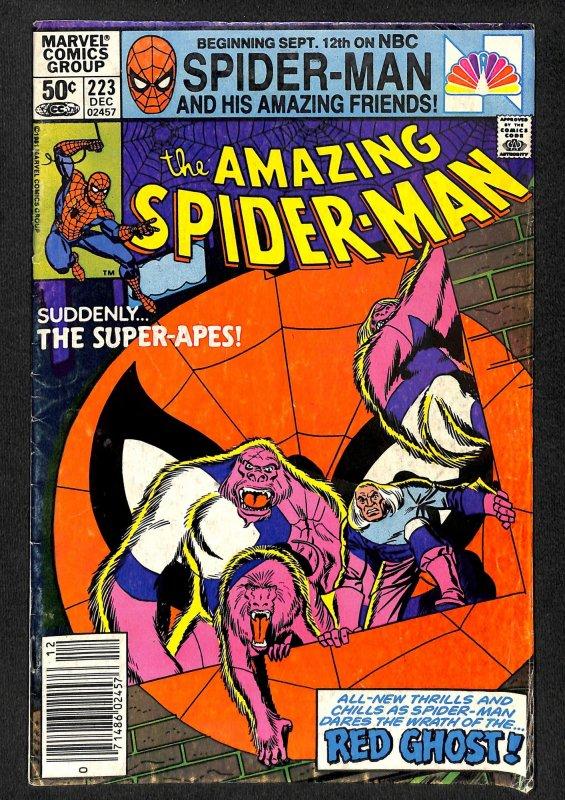The Amazing Spider-Man #223 (1981)