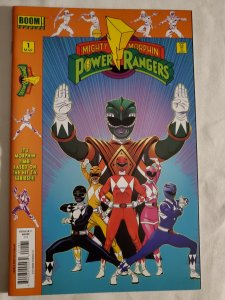 Mighty Morphin Power Rangers 1 Near Mint Cover by Jamal Campbell