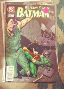 DETECTIVE COMICS  # 698 BATMAN  1996 DC  two face dick grayson robin killer moth
