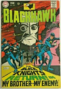 BLACKHAWK#242  FN/VF 1968 DC SILVER AGE COMICS