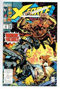 X-Force #21 (Marvel, 1993) VF/NM
