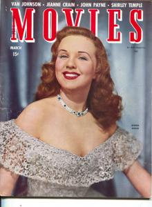 Movies-Deanna Durbin-June Allyson-Shirley Temple-Van Johnson-March-1945