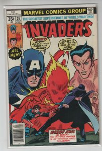 INVADERS (1975 MARVEL) #26 FN+ A96641