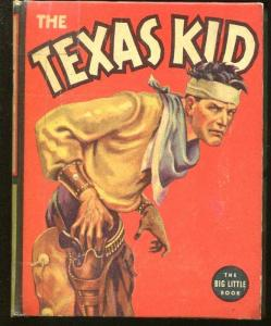 TEXAS KID-BIG LITTLE BOOK-#1429-1937-MILT YOUNGREN-COWBOY THRILLS-vg