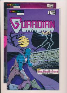 The GUARDIAN #1-2, Spectrum Comics F/VF (HX161)