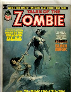 Tales Of The Zombie # 1 VF Marvel Comic Book Magazine Boris Vallejo Cover RS3