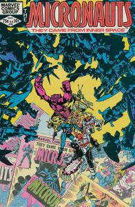 Micronauts (Vol. 1) #39 VG; Marvel | low grade comic - save on shipping - detail