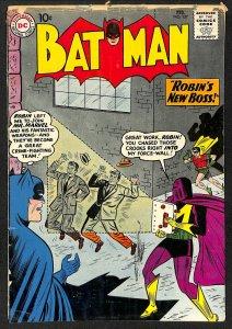 Batman #137 GD+ 2.5