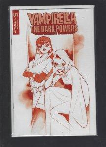 Vampirella Dark Powers #1 MOMOKO Crimson Red Line Cover SRP 100.00