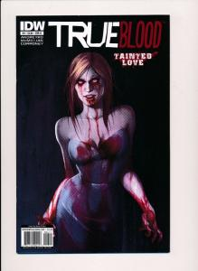 TRUE BLOOD Tainted Love #4, Variant Cover B ~2011~ IDW Comics ~ NM (HX371)