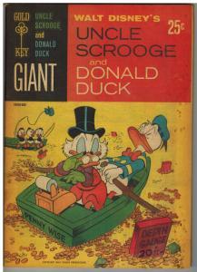 UNCLE SCROOGE & DONALD DUCK (1966 GK)   1 VG June 1965
