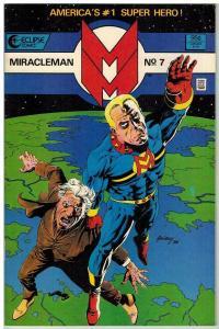 MIRACLEMAN 7 VF April 1986 COMICS BOOK