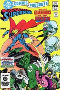 DC Comics Presents #60, VF (Stock photo)