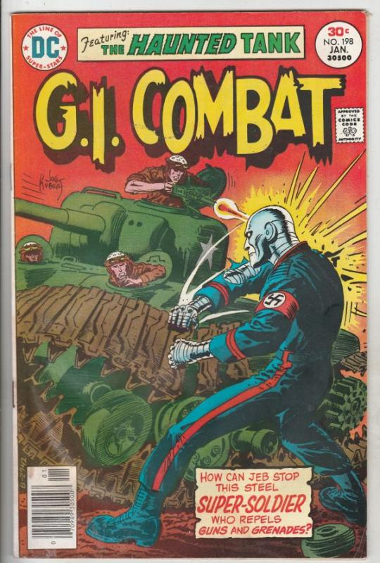 G.I. Combat #198 (Jan-77) VG- Affordable-Grade The Haunted Tank