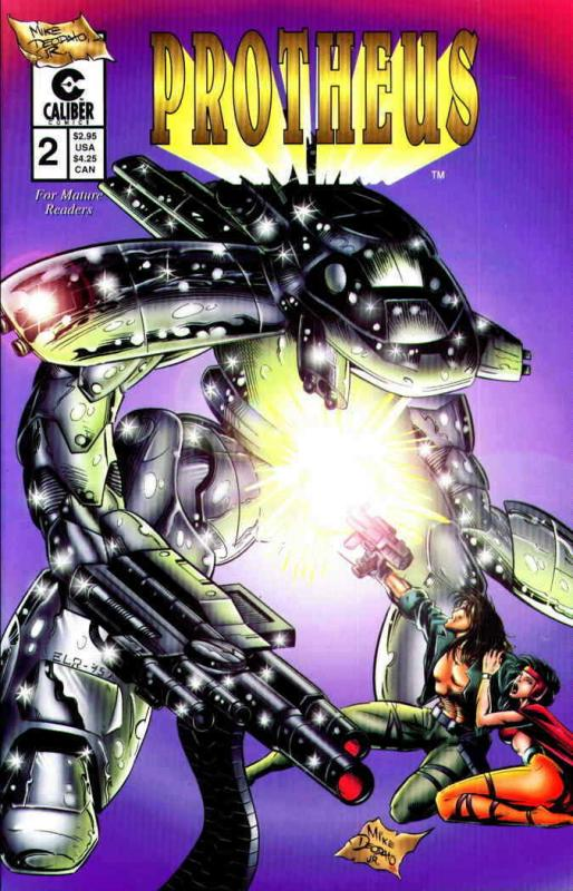 Protheus (Mike Deodato's…) #2 FN; Caliber | save on shipping - details inside