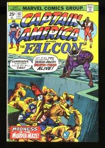 Captain America #187 VF 8.0