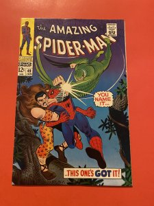 The Amazing Spider-Man #49 (1967) Kraven and Vulture Romita art
