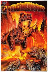 Volcanosaurus #1 Magma Edition (AMP, 2017) NM