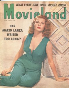MOVIELAND - JUNE 1953-RITA HAYWORTH-MARIO LANZA-LANA TURNER-FRANK SINATRA-MORE