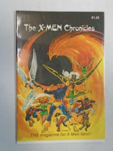 FantaCo's Chronicles #1 X-Men 4.0 VF (1981 FantaCo)