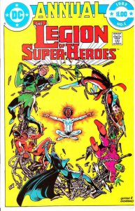 LEGION OF SUPER HEROES #1, VF/NM, Annual, Invisible Kid, DC, 1982 more in store