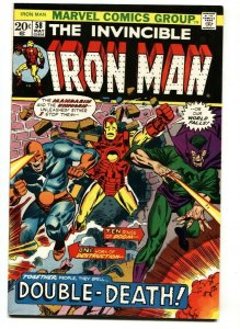 IRON MAN #58 1972 Marvel comic book MANDARIN-VF/NM