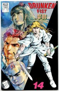 Drunken Fist #14 (Jademan, 1989) VF-