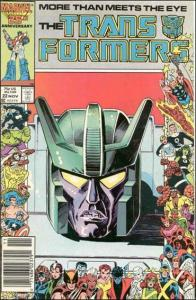 Marvel THE TRANSFORMERS (1984 Series) #22 NM-