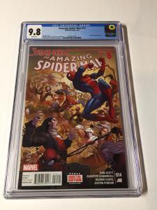 Amazing Spider-man 14 Cgc 9.8 V Vol Volume 3 III Legacy # 745