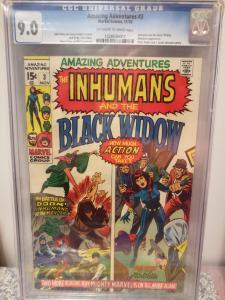 Amazing Adventures #3, Nov. 1970