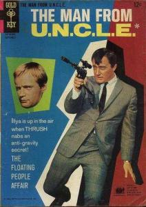 Man from U.N.C.L.E. (1965 series) #8, Fine- (Stock photo)