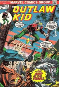 Outlaw Kid, The (2nd Series) #16 VG; Marvel | low grade comic - save on shipping